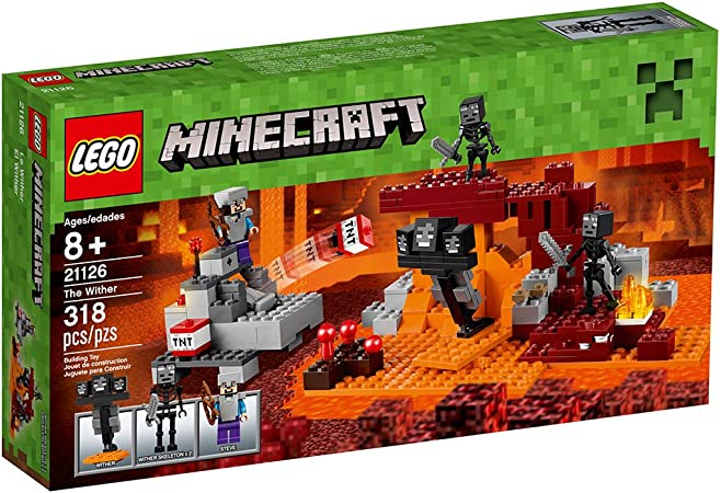 Amazon Com Lego Minecraft The Wither 21126 Toys Games