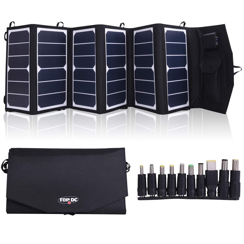 Cargador Solar Portatil De 39 Watts De Salida Topdc