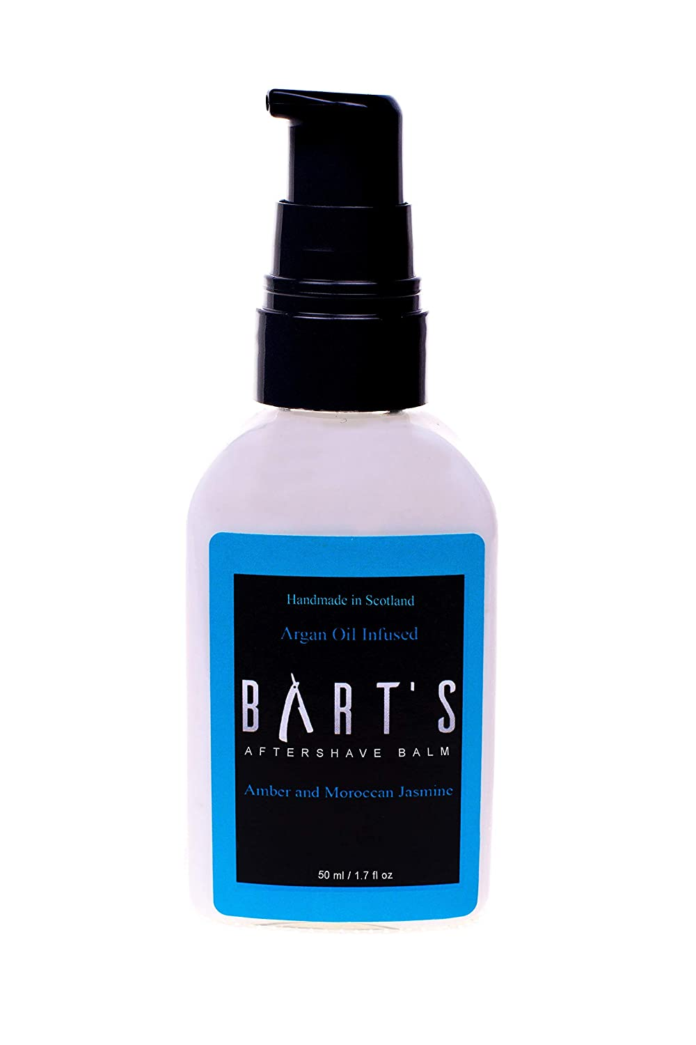 Bart's Balm Argan Oil Aftershave Balm - Lime Oil (10 Scents Available, 10ml and 50ml) Bart' s Balm