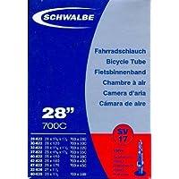 """SCHWALBE Fahrradschlauch SV17 mit Sclaverantventil ~ 27""""/28"""" ~ 28/47-622/635 mm (28 x 1 1/4 - 1,75 Zoll)"""