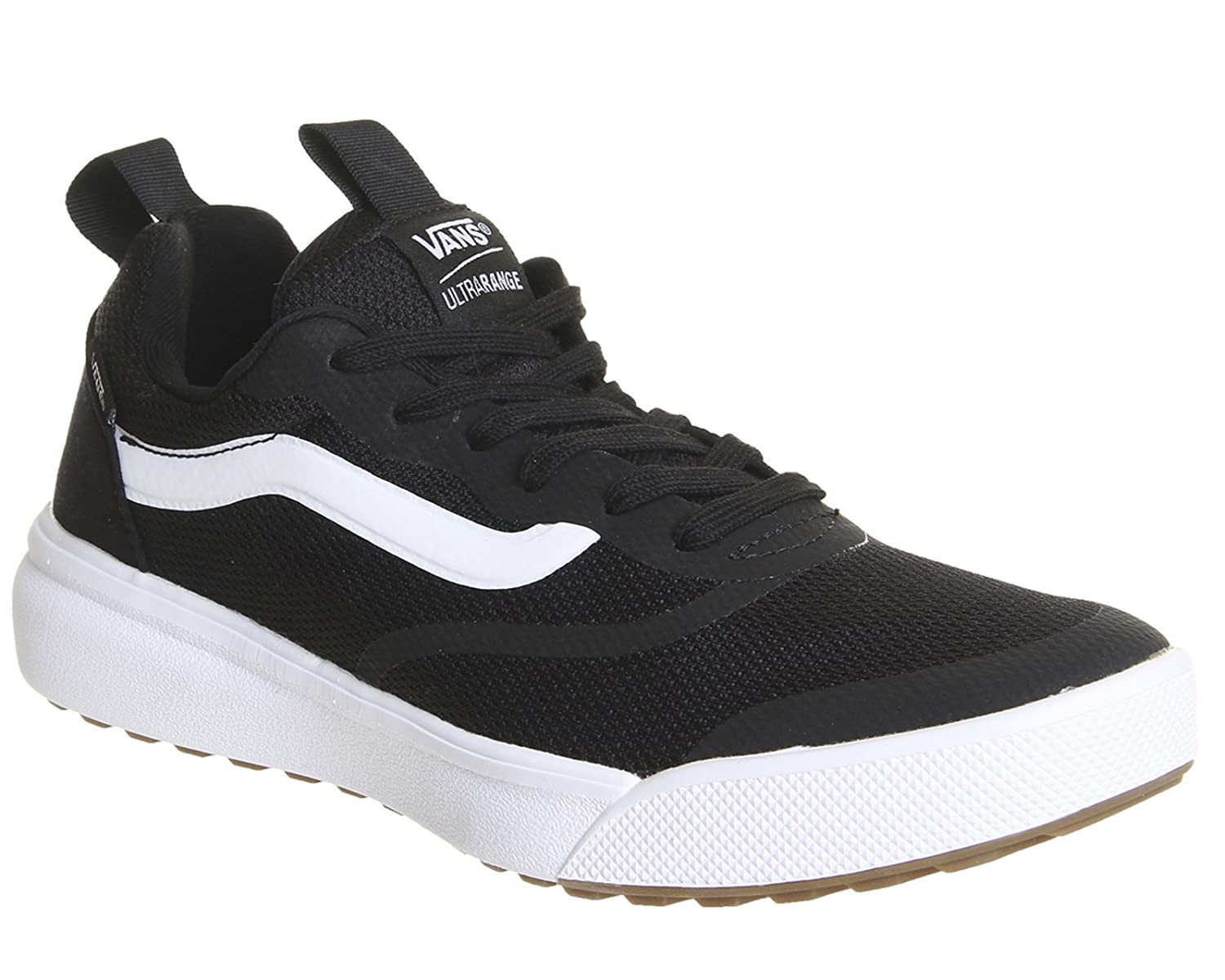Vans Men's Ultrarange Rapidweld Skate Shoe 9.5 D(M) US|Black/White