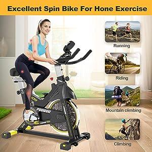 Pooboo Exercise Bike