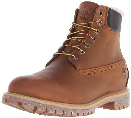 b9d4a4868e689 Timberland 6 Pulgadas Premium Botas Forro Caliente Invierno Hombres   Amazon.es  Zapatos y complementos