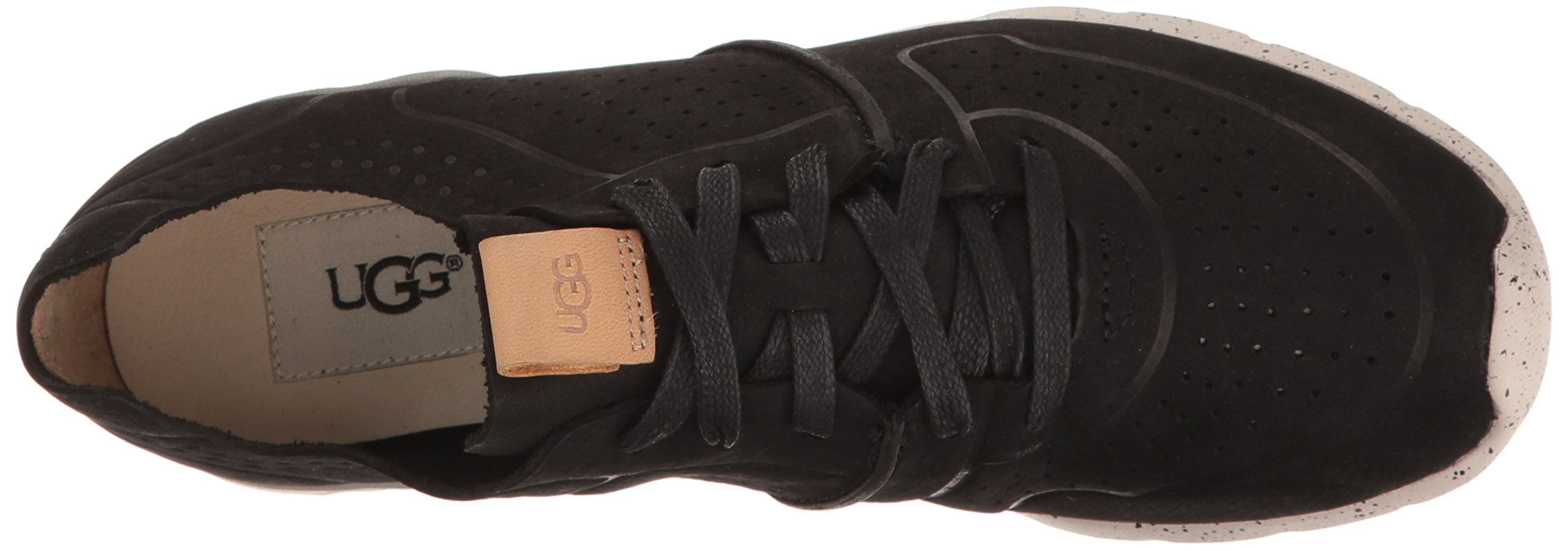 UGG Women's Tye Fashion Sneaker, Black, 8.5 US/8.5 B US by UGG (Image #8)