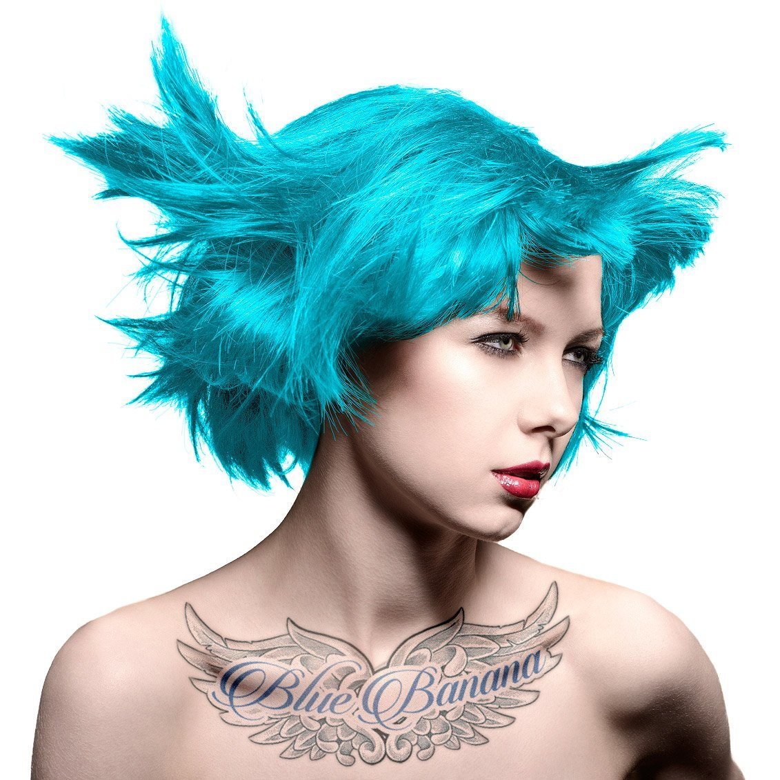 (3 Pack) MANIC PANIC Amplified Semi-Permanent Hair Color - Atomic Turquoise