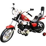 Chopper Motorcycle 6V Kids Battery Powered Ride On Car - Red