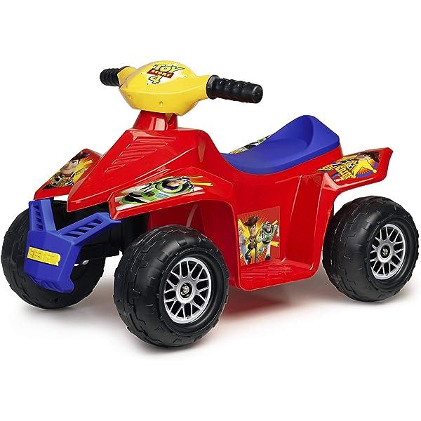 FEBER Quad Racy Toy Story 4 6V, para niños de 18 meses a los ...