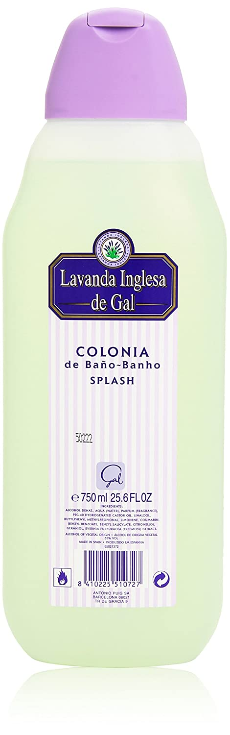 Lavanda Inglesa de Gal - Colonia de Baño Banho Splash 750ml: Amazon.es: Belleza