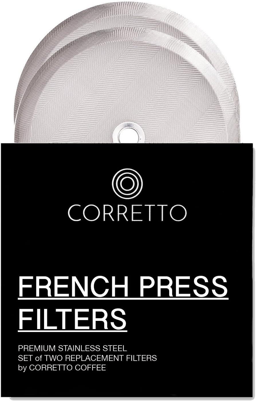 Amazon.com: 2 universal French Press Filtros de repuesto ...