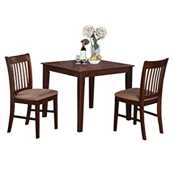 Amazon East West Furniture OXNO-MAH-C -Piece Kitchen Table
