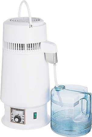 Olibelle 4L 750 W Megahome – Destilador de Agua Profesional con Jarre purificador con Botella de colección para casa Oficina Laboratorio Water Distiller en Acero Inoxidable: Amazon.es: Hogar