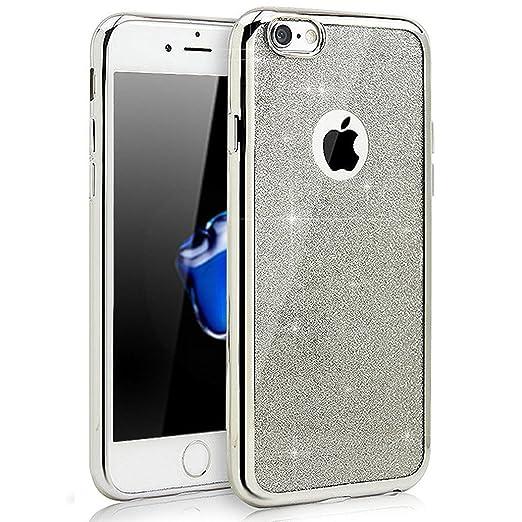 9 opinioni per Custodia iPhone 5S, Cover iPhone 5, Yoowei® diamante di Bling Custodia Chiaro