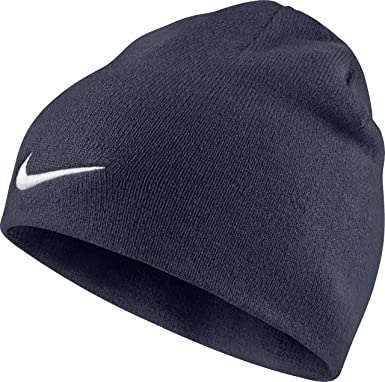fc138ffa Nike Men's Team Performance Beanie, Obsidian/White, One size: Amazon ...