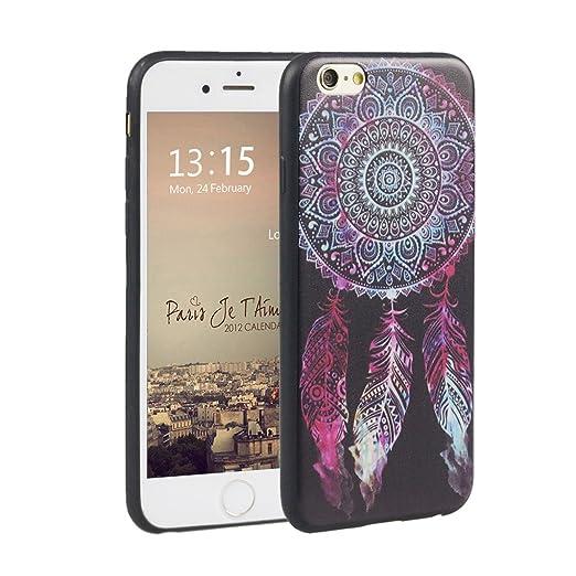 11 opinioni per iphone 6 6s 4.7 pollici Cover suave, Asnlove Custodia TPU Gel Silicone