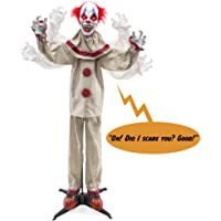 BCP Scary Harry the Motion Activated Animatronic Killer Clown Deals