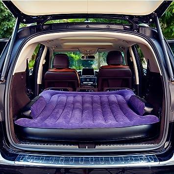 SUPERWORLD® Colchon Coche portátil SUV, colchon inflable con bomba de aire, Doble Cama colchones de aire para coche, colchones inflables con inflador ...