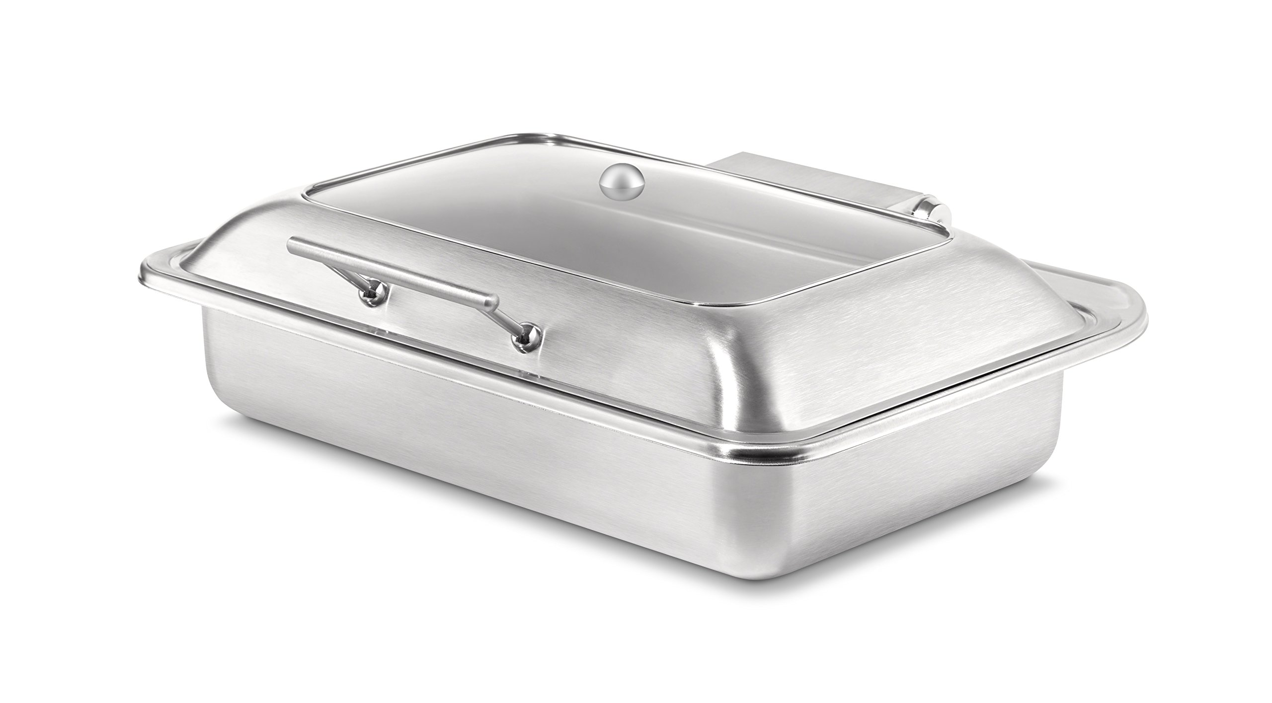 Rosseto SM249 Multi-Chef Soft Closing Lid, Stainless Steel by Rosseto