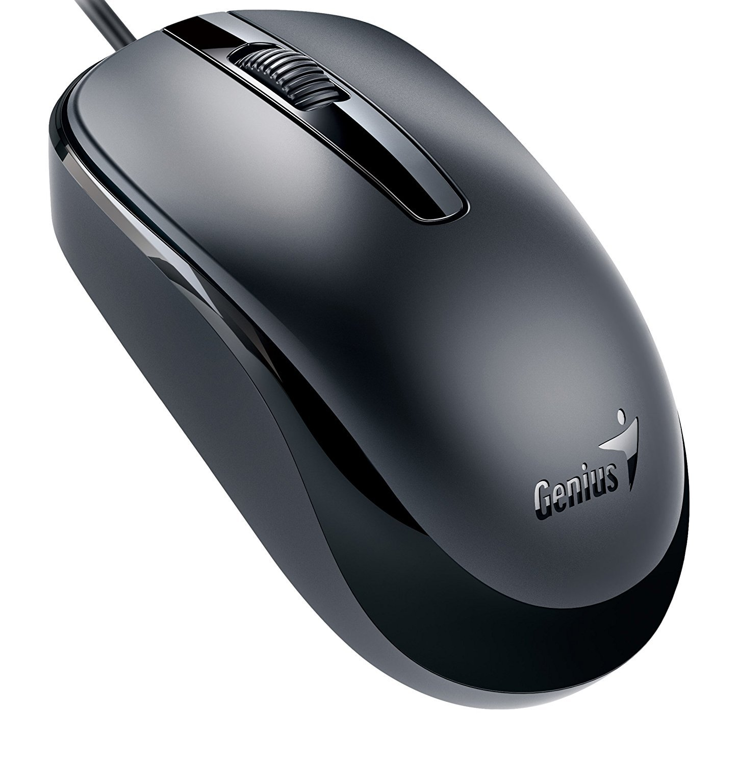 Usb Computer Mouse, Classic Laptop Pc Travel Mouse Wired Usb, Black
