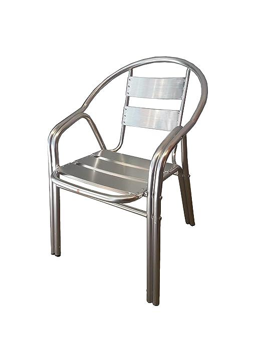 Exclusives Xuquer Silla Aluminio Para Terraza