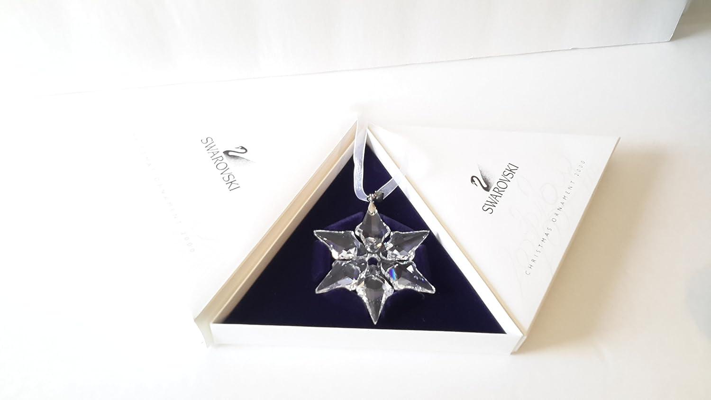 Swarovski 2000 Christmas Ornament Part - 45: Amazon.com: Swarovski 2000 Annual Christmas Snowflake / Star Ornament: Home  U0026 Kitchen