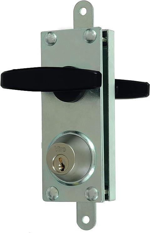 juego de cerradura de palanca de puerta de ba/ño EBTOOLS Cerradura de puerta de ba/ño RV cromo pulido para yate de caravana RV perilla de manija de ba/ño