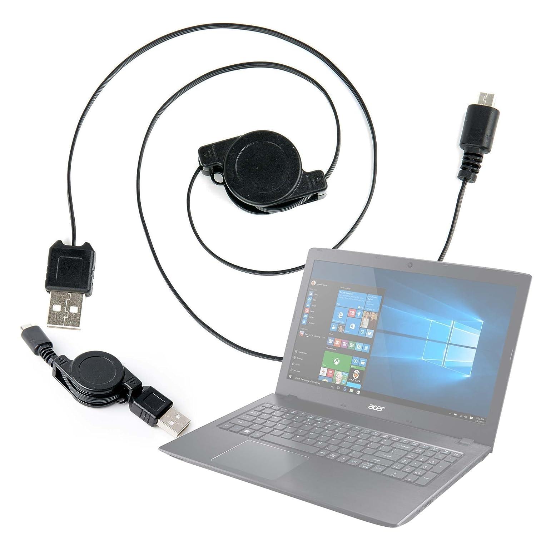 DURAGADGET Cable De Carga/Sincronización retráctil para ...