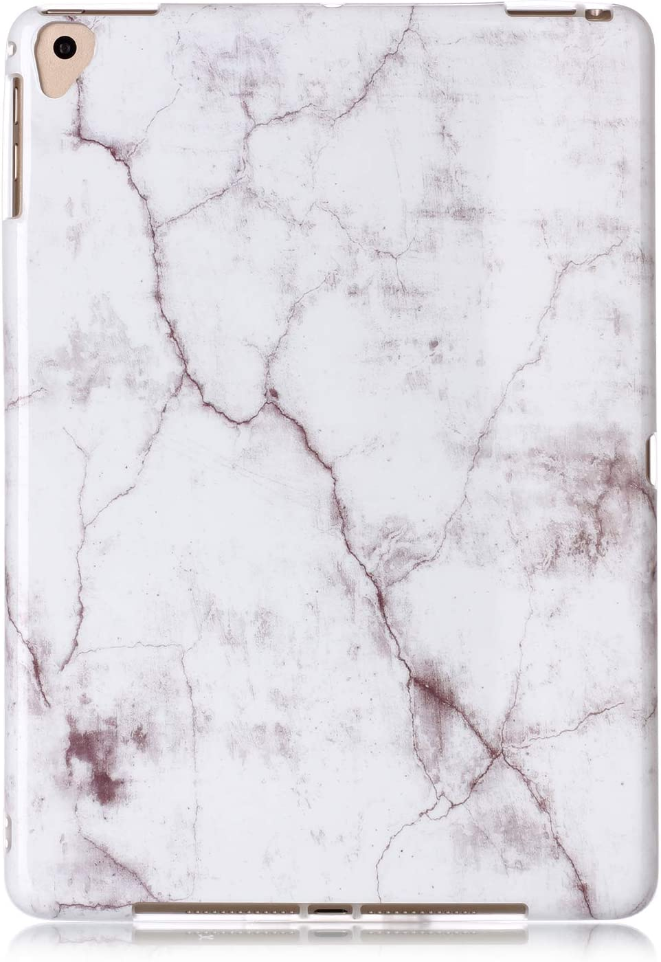 Dteck Shockproof Back Cover Case for 9.7 Inch Apple iPad 2018 (iPad 6th Generation) /iPad 2017 (iPad 5th Generation) /iPad Air 2 2014 /iPad Air 2013 Tablet - Soft Silicone Pretty Protect Case-Marble G
