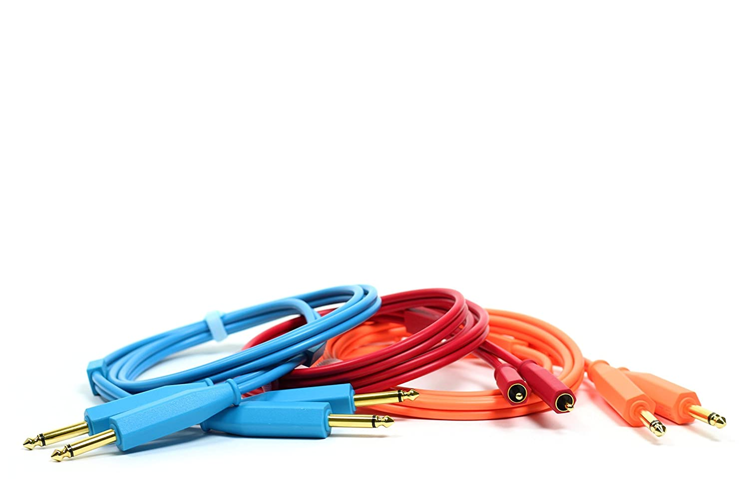 Blue Performance Audio Optimized Chroma Cables 1//4 to 1//4