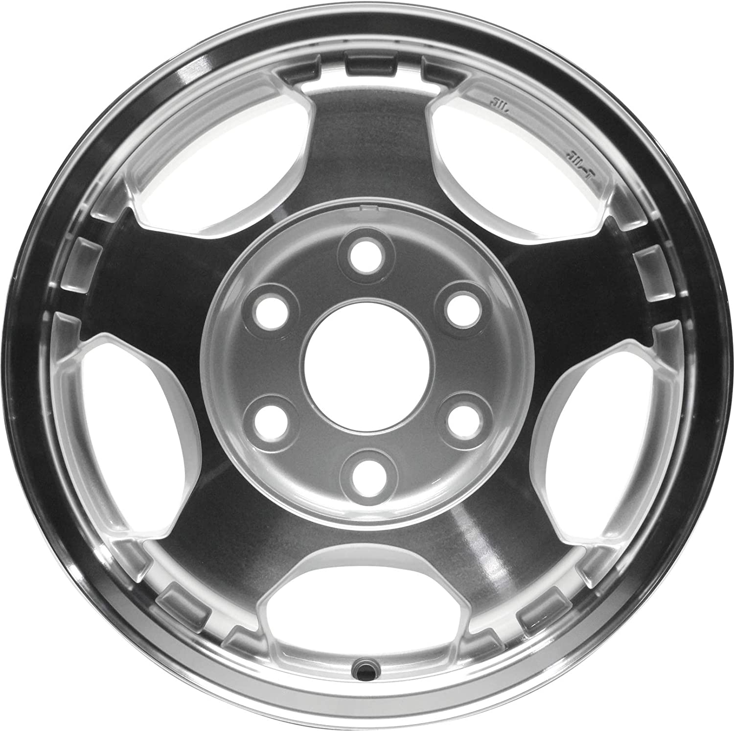 Partsynergy Replacement For New Aluminum Alloy Wheel Rim 16 Inch Fits 2003-2005 Chevrolet Astro 6-139.7mm 5 Spokes