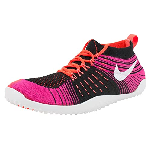 best website c2ef9 8066c Nike Hyperfeel Cross Elite Womens Black White Crimson Fireberry Athletic  Sneakers (8