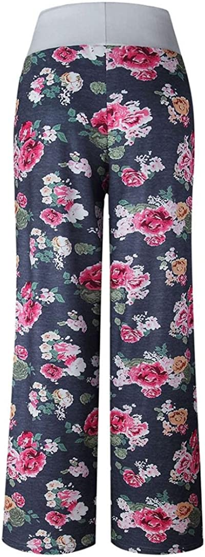 Memela Yoga pants Large Size Women Print Trousers Ladies Summer Loose Wide Leg Pants