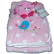 Cutie Pie Two Piece Bird Baby Blanket | 30 X 36 in
