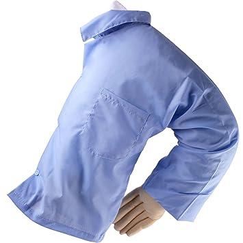 Cómodo dormir almohada con forma de brazo, mgq Idea divertida hombre OL camisa azul marido cuerpo para novia único Gag regalo: Amazon.es: Hogar