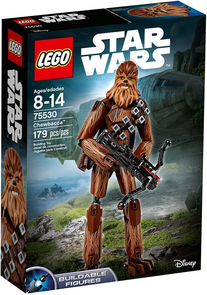 LEGO MINI PERSONAGGIO-STAR WARS-CHEWBACCA-sw0011a 8038 10179 10188 10236