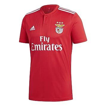 adidas Camiseta SL Benfica Primera Equipación 2018-2019 Benfica Red-White: Amazon.es: Deportes y aire libre