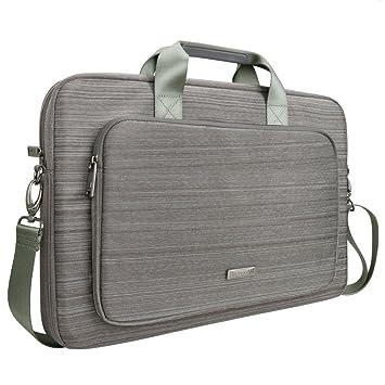 Amazon.com: Evecase Bolsa de tela de traje para portátil HP ...