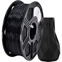 YOYI 3D Printer Filament, ABS Filament 1.75mm 2.2 lbs Spool (1kg), Dimensional Accuracy +/- 0.03 mm, 100% Europe Raw Material (Black)