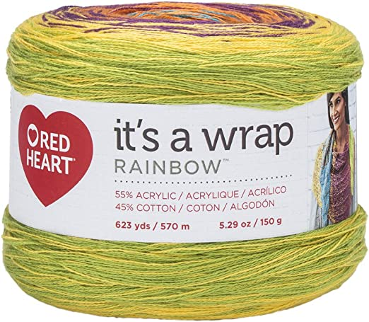 Red Heart Soft Color Yarn 100g variegated many colours