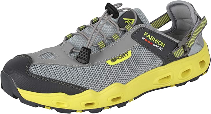 Amazon.com | 4HOW Mens Outdoor Water Shoes Quick Dry Swim Shoes | Water  Shoes