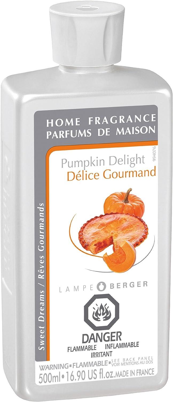 Lampe Berger 500ml/16.9-Fluid Ounces, Pumpkin Delight Parfum De Maison