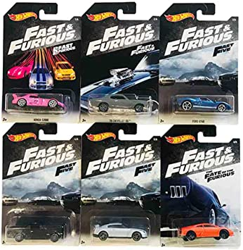 Hot Wheels Fast & Furious 2 Fast 2 Furious & The Fate of The ...
