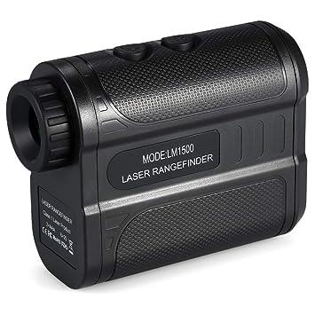 KKmoon 1500m Golf Rangefinder Medidor de distancia láser de ...