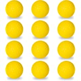 Franklin Sports Golf Balls – Official Size – Indoor or Outdoor Golf Training – Restricted Ball Fight for Golf Practice…