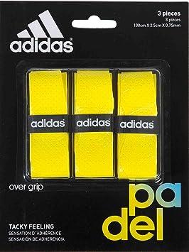 adidas Pádel OV - Set overgrip, Color Amarillo, Talla única: Amazon.es: Deportes y aire libre