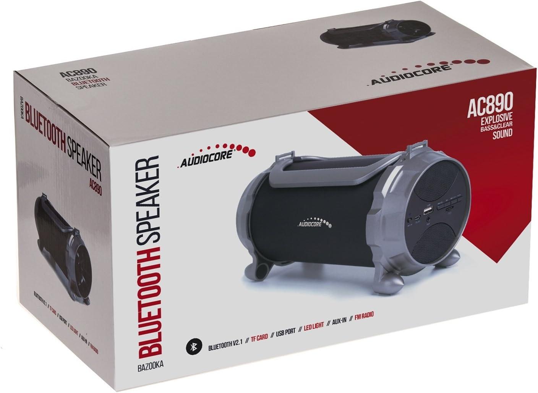 Audiocore AC890 Bazooka Bluetooth Lautsprecher 100W 2000mAh FM Radio Mp3-Player