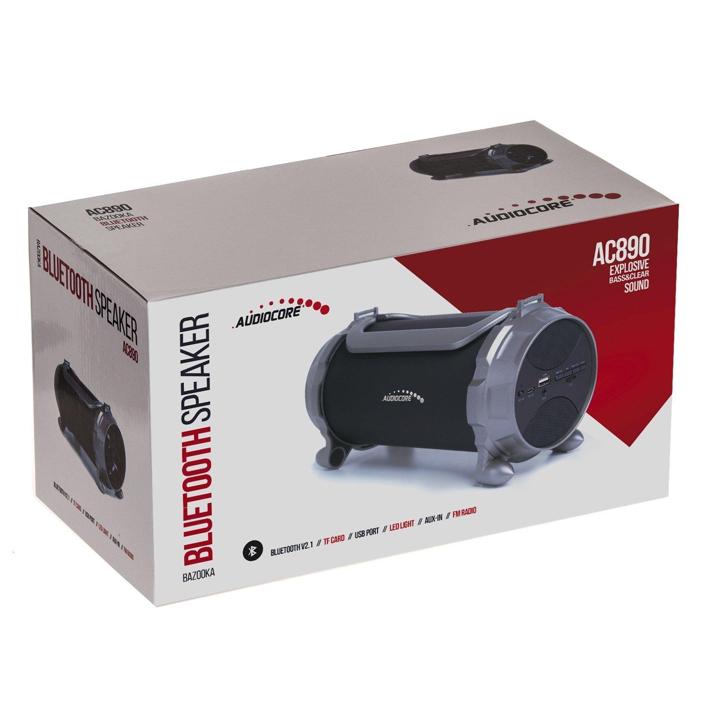 BOX SUBWOOFER CASSA SPEAKER AUTO 100W TWEETER BLUETOOTH USB RADIO FM SD