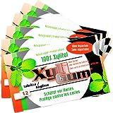 Birkengold Xylit Kaugummi Lakritze 12 Dragees, 6er Pack (6 x 15g)