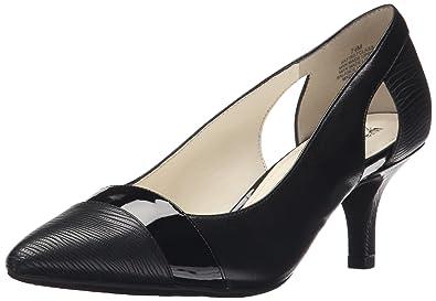 Women's Anne Klein Firstclass Heels (Black/Black Leather 1) - ZR