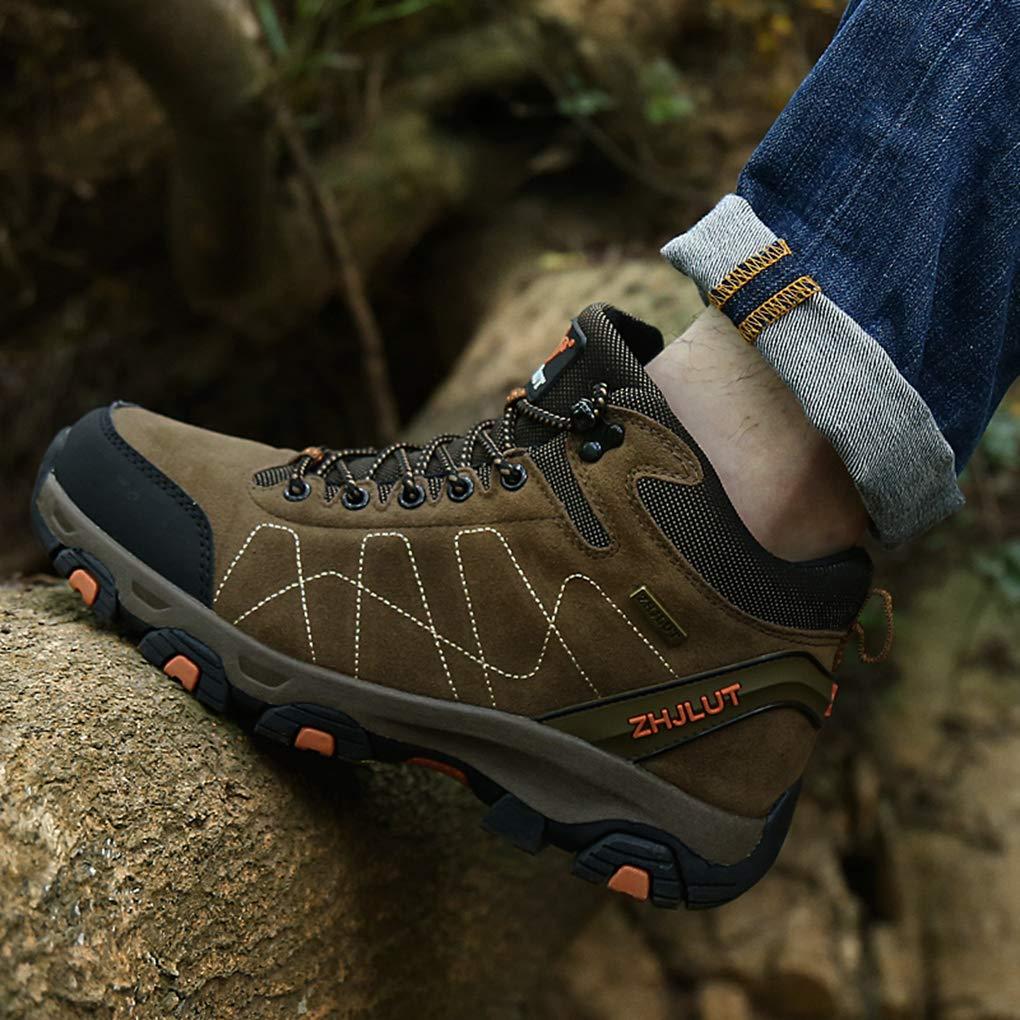Mens Hiking Boots Trekking Climbing Mountain Trail Anti-Skid Walking Sneakers