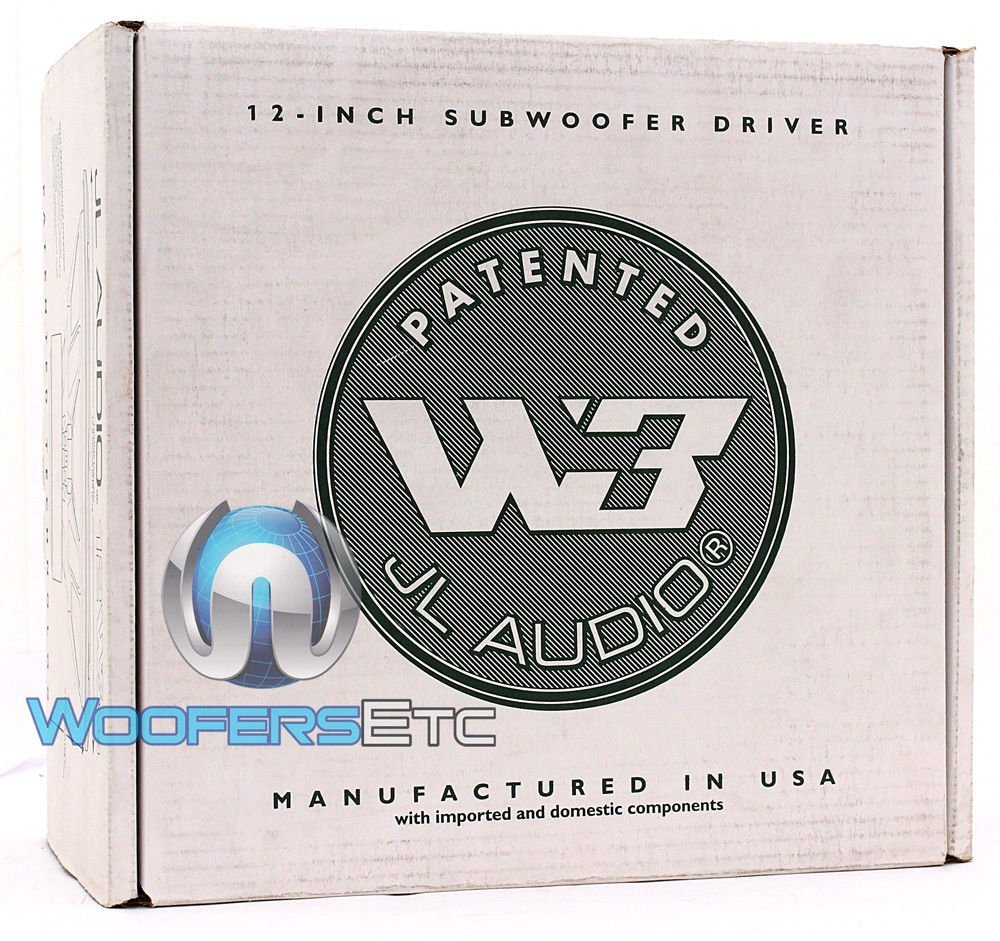 JL-Audio 12/ W3/ V3/ Car Speaker